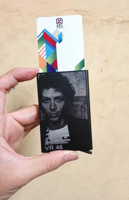 smart wallet atau dompet kartu grafir valentino rossi motogp