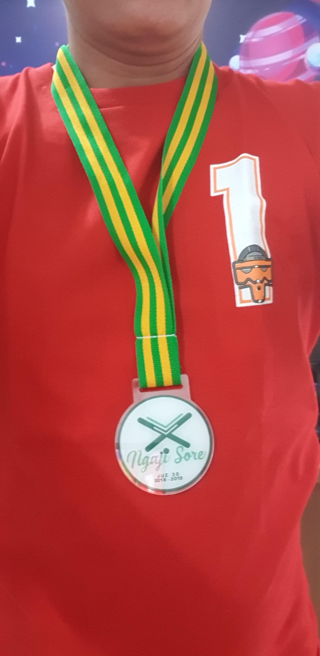 Plakat Medali
