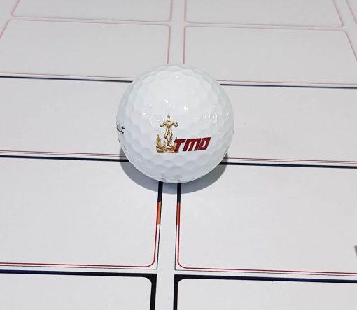 Cetak bola Golf dengan UV print