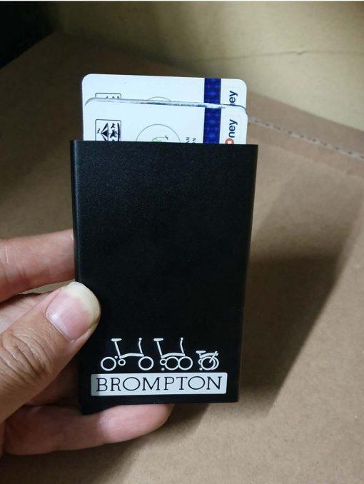 smart wallet atau dompet kartu garfir brompton