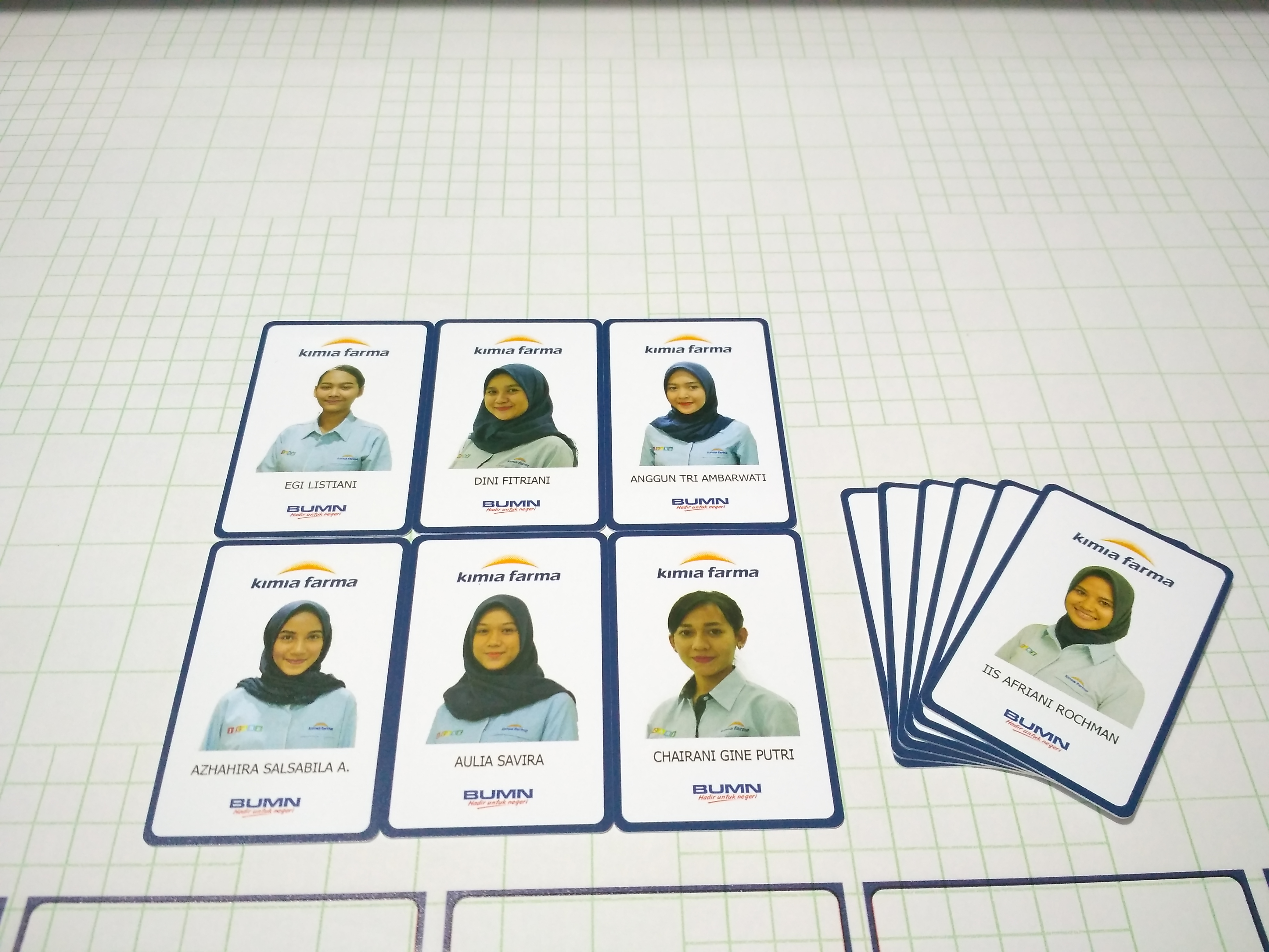 ID Card pvc Kimia Farma